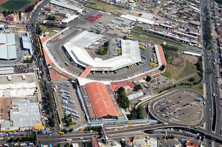 Vista aérea de la CAPU, en Puebla